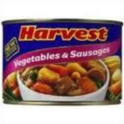 Photo of Harvest Veg & Sausages 425gm