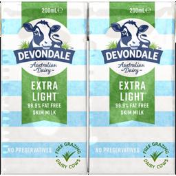 Photo of Devondale Skim Milk 6x200ml