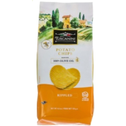 Photo of Tuscanini Chips Ripple Olive Oil 130g