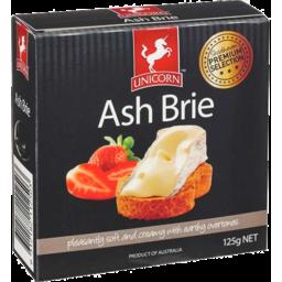 Photo of Unicorn Ash Brie 125gm