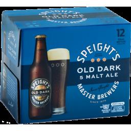 Photo of Speight's 5 Malt Old Dark 330ml Bottles 12 Pack