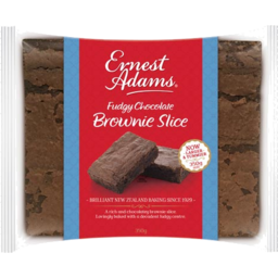 Photo of Ernest Adams Slice Chocolate Fudge Brownie 350g