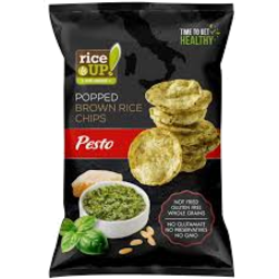 Photo of Rice Up Brown Rice Chip Pesto 60g