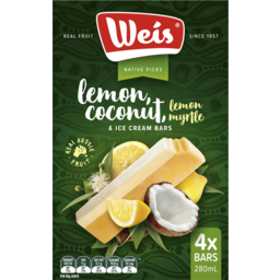 Photo of Weis Lemon Myrtle Cocnut Crm 4pk