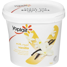 Photo of Yoplait Real Fruit Vanilla 1kg