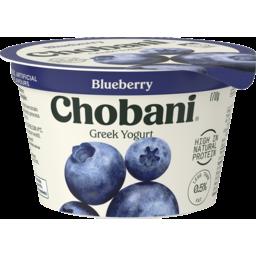 Photo of Chobani Greek Yogurt Blueberry 170g