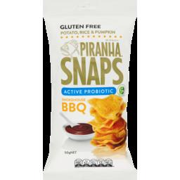 Photo of Piranha Snaps Active Probiotics Smokehouse BBQ 50g