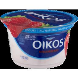 Photo of Dannon Oikos Fruit On The Bottom Strawberry Greek Nonfat Yogurt