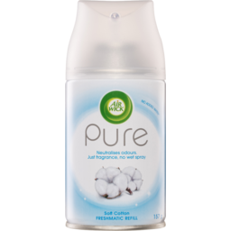 Photo of Air Wick Pure Freshmatic Automatic Air Freshener Refill Soft Cotton 157g