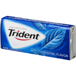 Photo of Trident Original Flavor Sugar Free Gum - 18 Ct