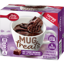 Photo of Betty Crocker Mug Treats Hot Fudge Brownie