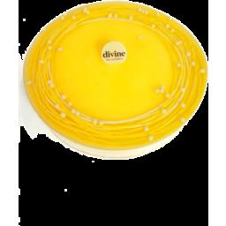 Photo of Divine Cheesecake Lemon Large