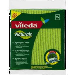 Photo of Vileda Naturals Sponge Cloth