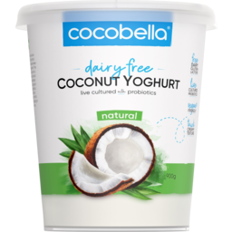 Photo of Cocobella Dairy Free Natural Coconut Yoghurt 900g