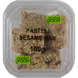 Photo of The Market Grocer Pasteli Sesame Bar 200g