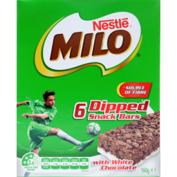 Photo of Nestle Milo Snack Bars with Milk 6x27g Pack