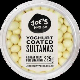Photo of Jc's Yoghurt Coated Sultanas 225gm