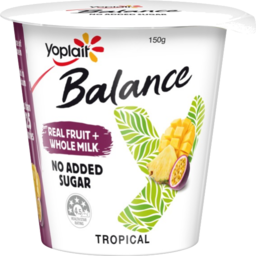 Photo of Yoplait Yoghurt Balance Tropical 150gm