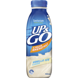 Photo of Sanitarium Up&Go Liquid Breakfast Vanilla Ice 500ml