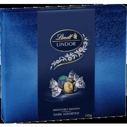 Photo of Lindt Lindor Dark Assorted Gift Box 150g