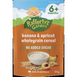 Photo of Rafferty's Garden Banana & Apricot Wholegrain Cereal 125g