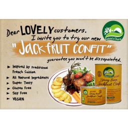 Photo of Nature's Charm - Young Green Jackfruit Confit - 200g