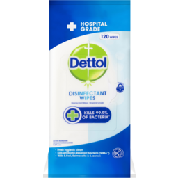 Photo of Dettol Disinfect Wipes 120s