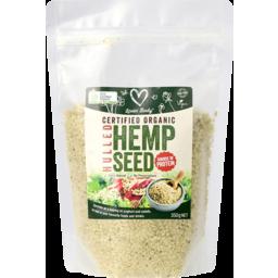 Photo of Organic Hulled Hemp Seeds 350g