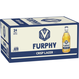 Photo of Furphy Crisp Lager 375ml 24 Pack
