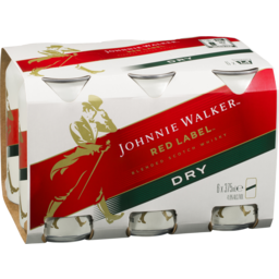Photo of Johnnie Walker Red & Ginger Cans