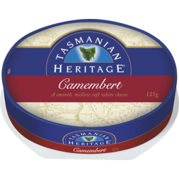 Photo of Tasmanian Heritage Camembert Oval 125gm
