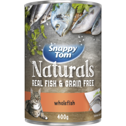 Photo of Snappy Tom Original Whole Fish 400g