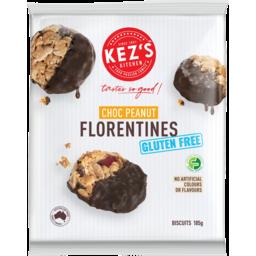 Photo of Kezs Gluten Free Choc Peanut Florentines Biscuits 185g