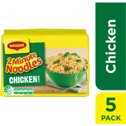 Photo of Maggi 2-Minute Noodles Chicken 5pk 72g
