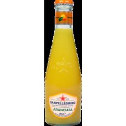 Photo of Sanpellegrino Italian Sparkling Drinks Aranciata Dolce 4 Pack X 200ml