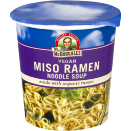Photo of Big Cup Soup Miso/Org Noodles 54gm