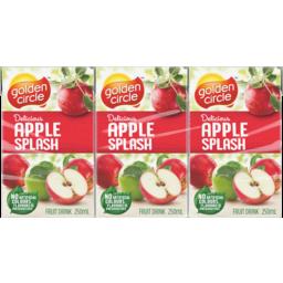 Photo of Golden Circle® Apple Splash Fruit Drink Multipack Poppers 6x250ml