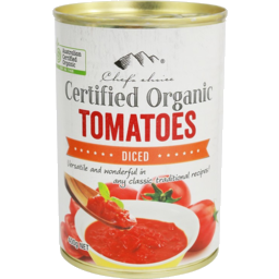 Photo of Chefs Choice - Tomatoes Diced In Tomato Juice - 400g