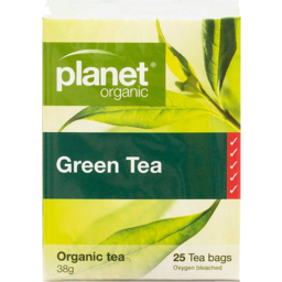 Photo of Planet Organic Tea - Green (Decaffeinated)