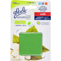 Photo of Glade Sensations Gel Air Freshener Refill Fresh Jasmine Refill 12g