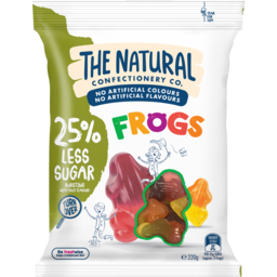 Photo of The Natural Confectionery Co. Frogs 220g