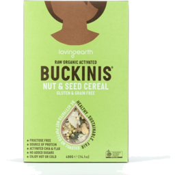 Photo of Loving Earth - Buckwheat - Buckinis Nut & Seed Cereal - 400gm