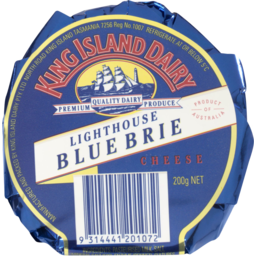 Photo of King Island Lighthouse Blue Brie 200gm