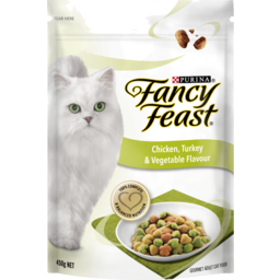 Photo of Fancy Feast Chicken, Turkey & Vegtables Adult Dry Cat Food 450g
