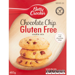 Photo of Betty Crocker Gluten Free Cookie Mix Chocolate Chip 485g