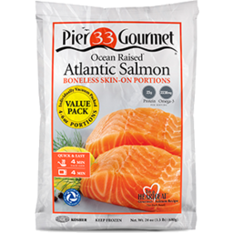 Photo of Pier 33 Gourmet Atlantic Salmon Portions