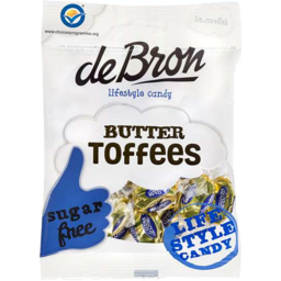 Photo of De Bron Sugar Free Butter Toffees 70gm