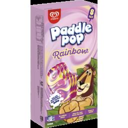 Photo of Paddle Pop Rainbow 8 Pack 544ml