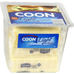 Photo of Coon Cheese Light & Tasty Sliced 750gm