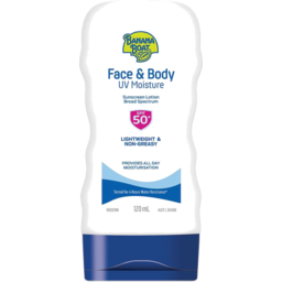 Photo of Banana Boat Face & Body Uv Moisture Spf 50+ Lotion 120ml